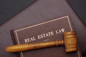 Real Estate Law Book and Gavel